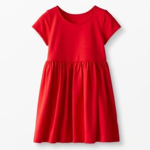 Hanna Andersson Bright Basic Red Dress